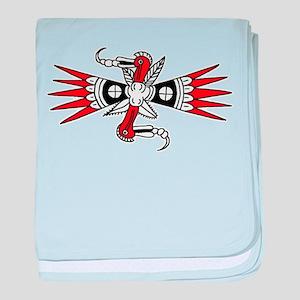 2-woodpecker baby blanket