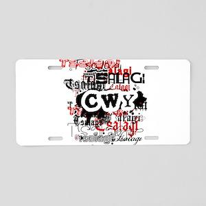 CWYblackshirt Aluminum License Plate