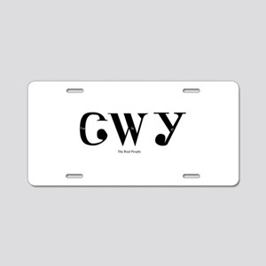 Tsalagi Aluminum License Plate