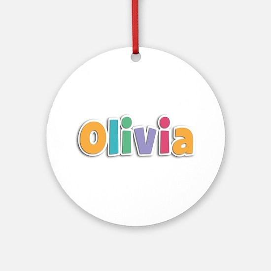 Olivia Spring11 Round Ornament