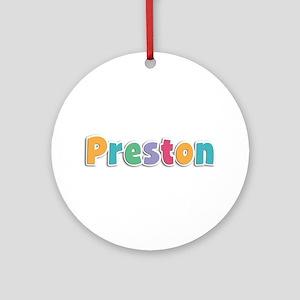 Preston Spring11 Round Ornament
