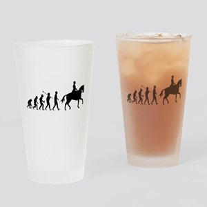 Equestrian Drinking Glass