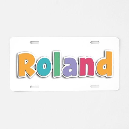 Roland Spring11 Aluminum License Plate