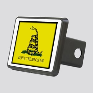 """Don't Tread On Me!"" Rectangular Hitch Cover"