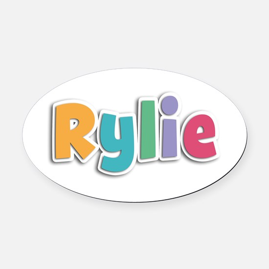 Rylie Spring11 Oval Car Magnet