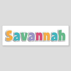 Savannah Spring11 Bumper Sticker