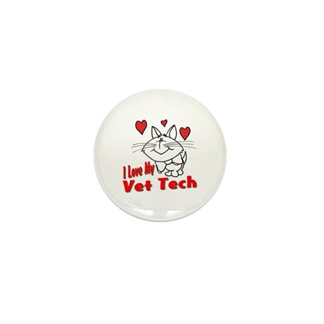 Vet Tech Mini Button