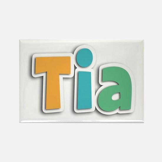 Tia Spring11 Rectangle Magnet
