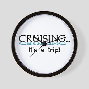 Cruising... its a trip! Wall Clock