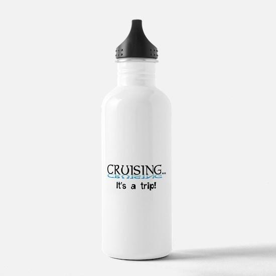 Cruising... its a trip! Water Bottle