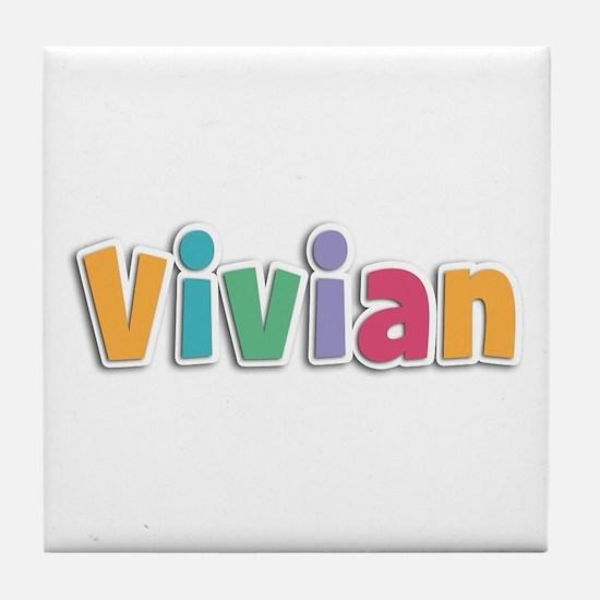 Vivian Spring11 Tile Coaster