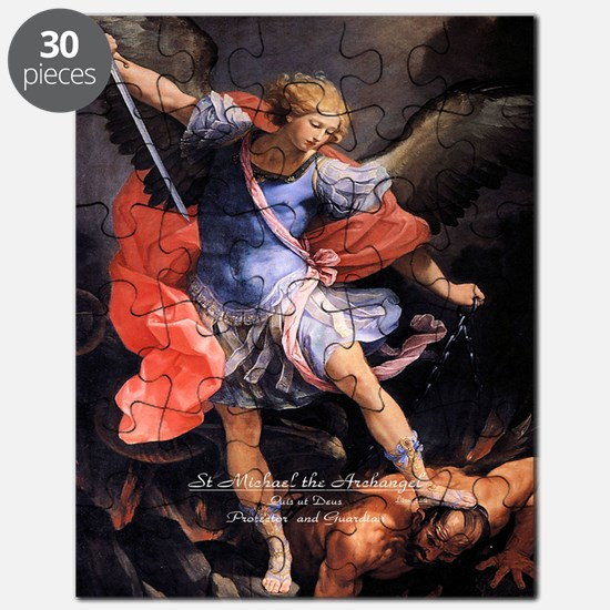 Saint Michael the Archangel Quis ut Deus Puzzle