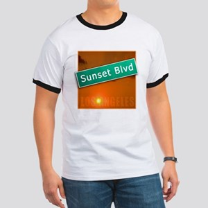 Sunset Boulevard Los Angeles Ringer T