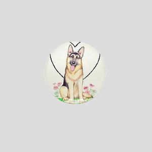 German Shepherd Dog Mini Button