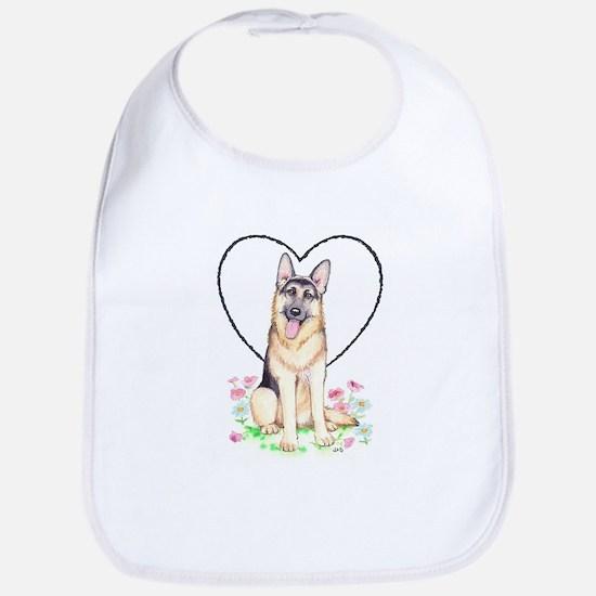 German Shepherd Dog Bib