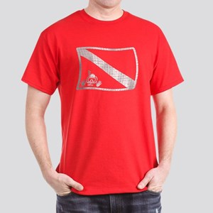 iDive Dive Flag Dark T-Shirt