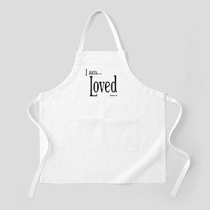 I am Loved Romans 5:8 Apron