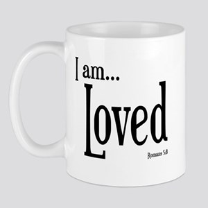 I am Loved Romans 5:8 Mug