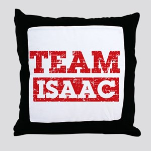 Team Isaac Throw Pillow