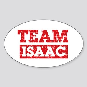 Team Isaac Sticker (Oval)