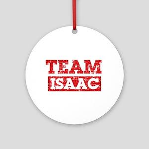Team Isaac Ornament (Round)