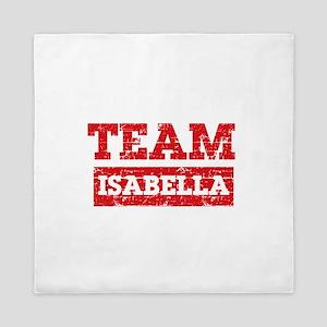 Team Isabella Queen Duvet