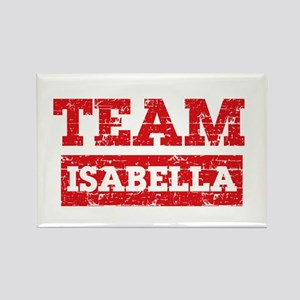 Team Isabella Rectangle Magnet