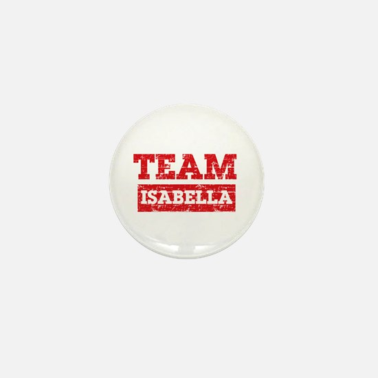 Team Isabella Mini Button