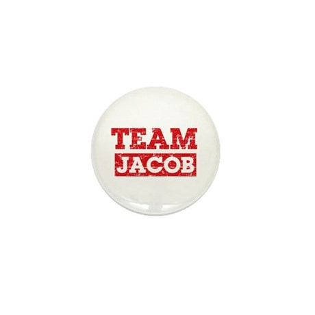 Team Jacob Mini Button (100 pack)