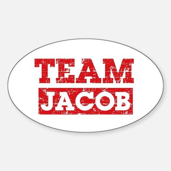 Team Jacob Sticker (Oval)