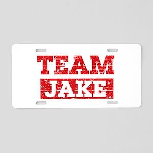Team Jake Aluminum License Plate