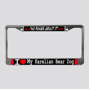 NB_Karelian Bear Dog License Plate Frame