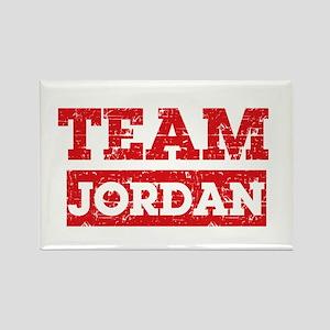 Team Jordan Rectangle Magnet