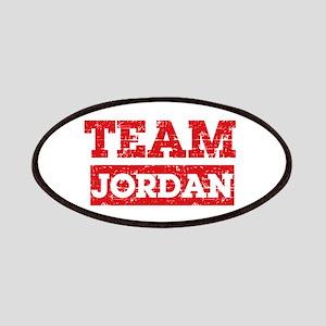 Team Jordan Patches