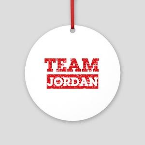 Team Jordan Ornament (Round)