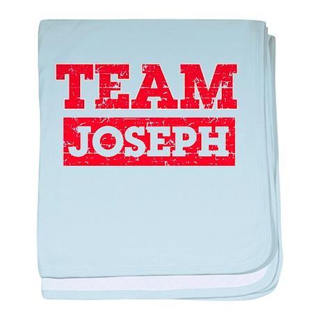 Team Joseph baby blanket