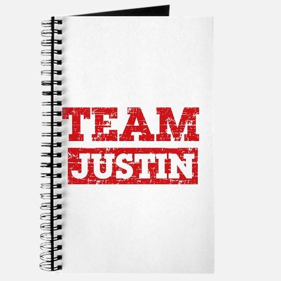 Team Justin Journal