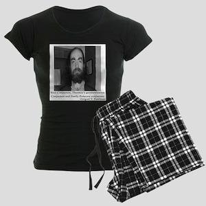 perelman straight pose Women's Dark Pajamas