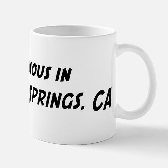Famous in Boyes Hot Springs Mug