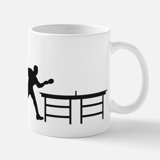 Evolution table tennis A.png Mug