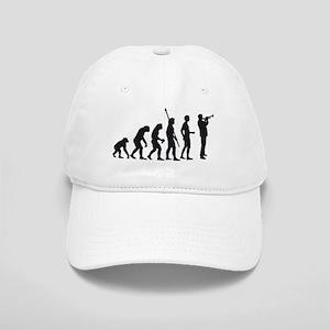 evolution trumpet player Cap