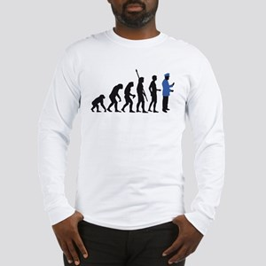 evolution uniformed man Long Sleeve T-Shirt