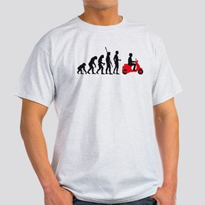 evolution scooter Light T-Shirt