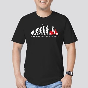 evolution scooter Men's Fitted T-Shirt (dark)