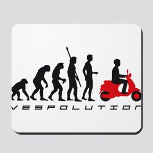evolution scooter Mousepad