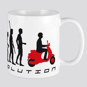 evolution scooter Mug