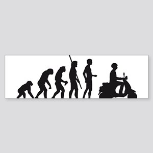 evolution scooter Sticker (Bumper)