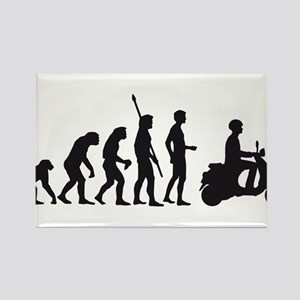 evolution scooter Rectangle Magnet