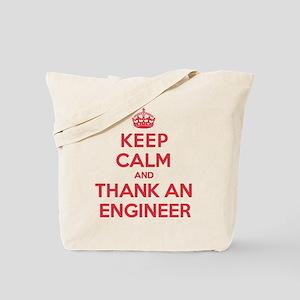 K C Thank Engineer Tote Bag