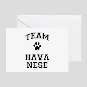 Team Havanese Greeting Card